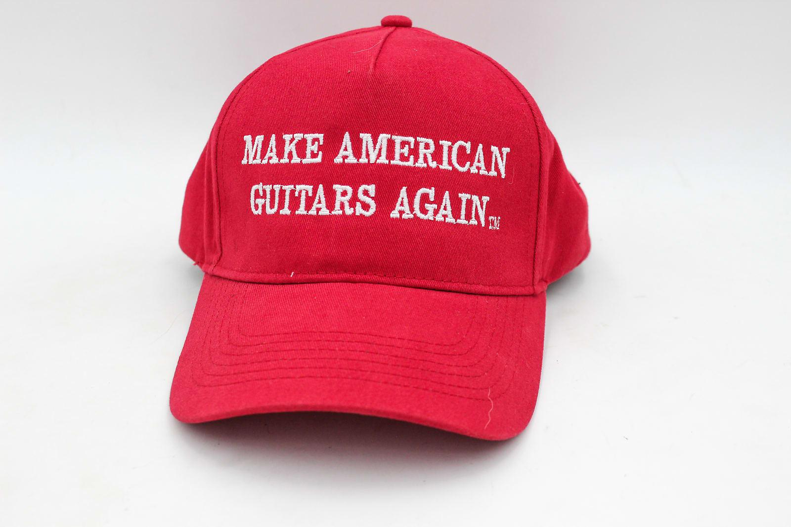 Make American Guitars Again - Awesome MAGA Hat!