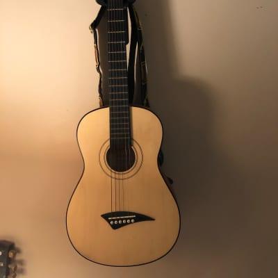 Dean Playmate JT 2008  3/4 Acoustic Guitar Natural Travel Guitar  w/gig bag for sale