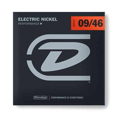 Dunlop Nickel Plated Steel Electric Strings 09-46