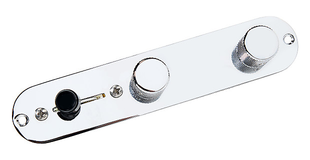 fender tele telecaster 4 way reverse control plate w oak grigsby switch chrome