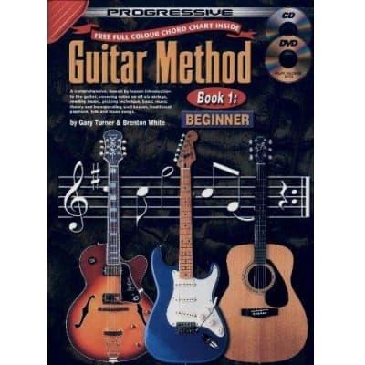 Progressive Guitar Method - Book 1: Beginner (w/ CD & DVD)