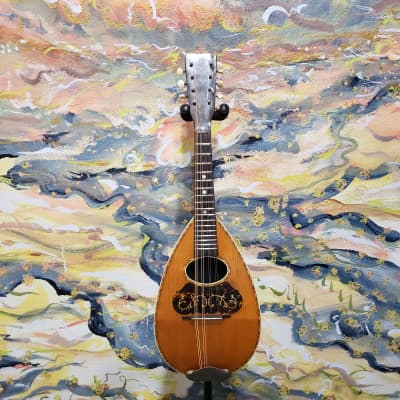 1900's American Conservatory Bowlback Mandolin w/ Hard Case (Used) for sale