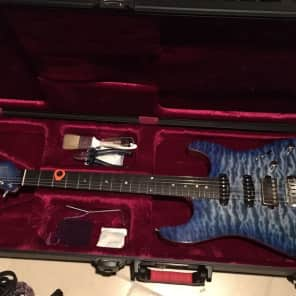 Agostin Custom Guitar Custom 22 2014 Azzurro Blue for sale