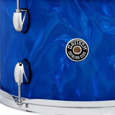 Gretsch Catalina Club 4 Piece Shell Pack 20/12/14/14SN - Blue Satin Flame