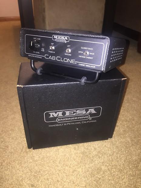 mesa boogie cabclone 16 ohm cabinet simulator load box reverb. Black Bedroom Furniture Sets. Home Design Ideas