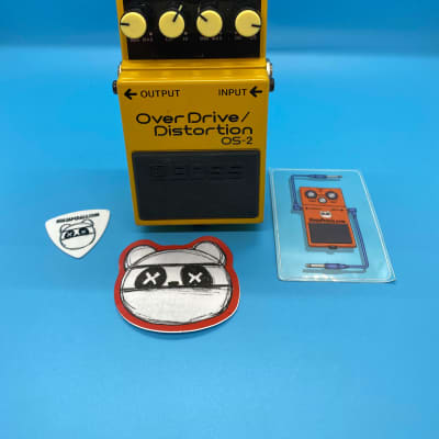 Boss OS-2 Overdrive/Distortion   Fast Shipping!