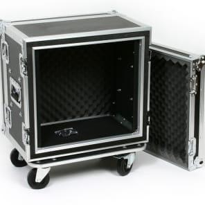 "OSP SC10U-12 10 Space 10 U ATA Shock Effects Flight Rack Case 19"" Wide 12"" Deep"