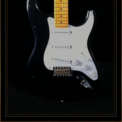 "Fender Custom Shop Limited Edition 30th Anniversary Eric Clapton ""Blackie"" Signature Stratocaster"