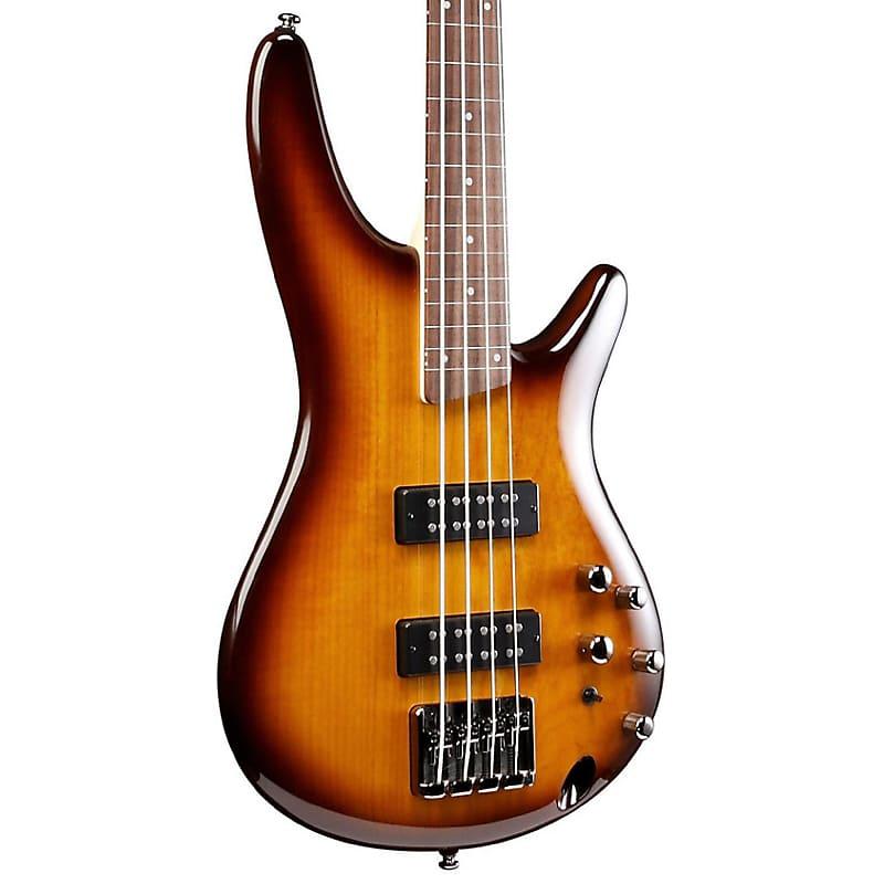 Ibanez SR370EF Fretless Bass, Brown Busrt
