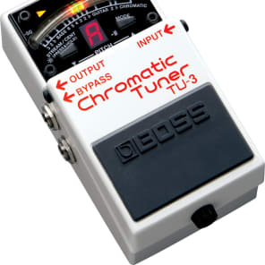 Boss TU-3 Chromatic Guitar Compact Pedal Tuner for sale