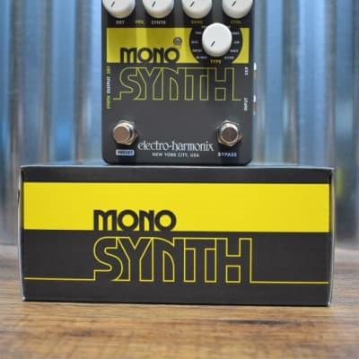 Electro-Harmonix EHX Mono Synth Guitar Synthesizer Effect Pedal