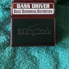 DigiTech Bass Driver Pedal 2015 Burgundy
