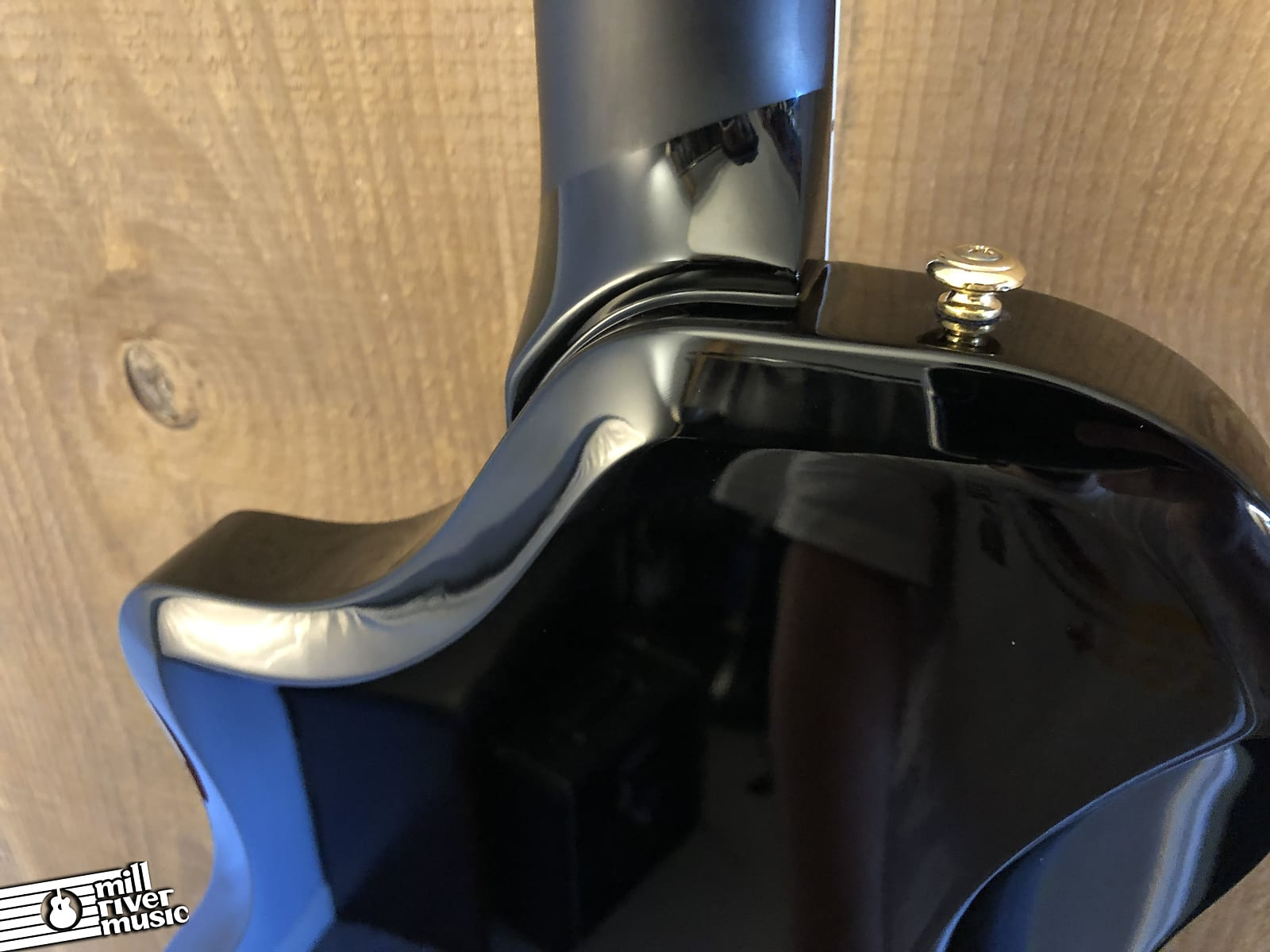 Supro 1275JB Tri Tone Electric Guitar Jet Black 2019