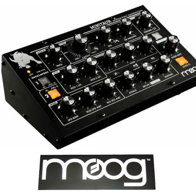 Moog Minitaur Rev 2.2 - Analog Bass Synthesizer