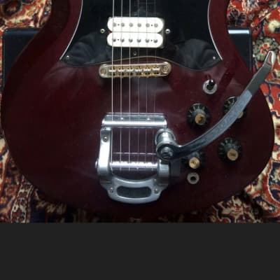 PEARL PEARL SG VINTAGE JAPAN 1970's Burgandy for sale