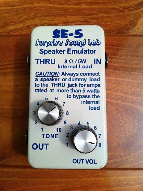 Surprise Sound Lab SE-5 Speaker Emulator / 5 watt load box