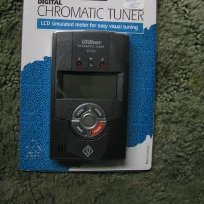 Wittner CT30 Digital Chromatic Tuner for Guitar instrument -NEW-Black