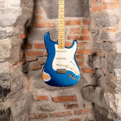 Fender Masterbuilt Greg Fessler Stratocaster 57 Heavy Relic Lake Placid Blue 2014 Used Perfect Condi 2014 Lake Placid Blue Relic for sale