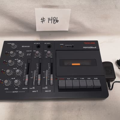 TASCAM Porta 03 MKII 4-TRACK Cassette Recorder #1486 Good Used Working Condition