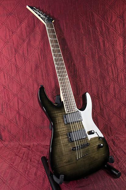 jackson dkmg green flame electric guitar authorized dealer reverb. Black Bedroom Furniture Sets. Home Design Ideas