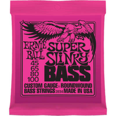 Ernie Ball P02834 Super Slinky Bass Nickel Wound
