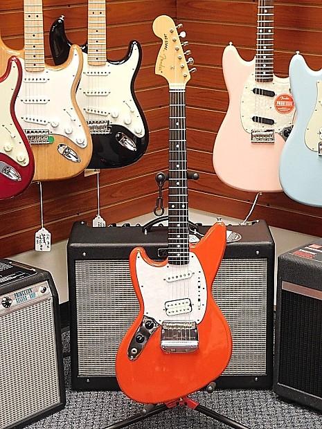 Fender Jag Stang Kurt Cobain Model Lefty Left Handed Fiesta Reverb