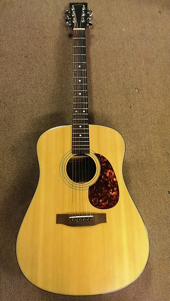 Late 1980s Martin Sigma Dm 2 Dreadnought Acoustic Guitar Reverb