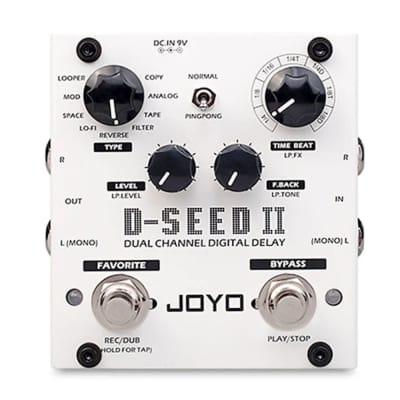 Joyo D-Seed II Stereo Delay 2020