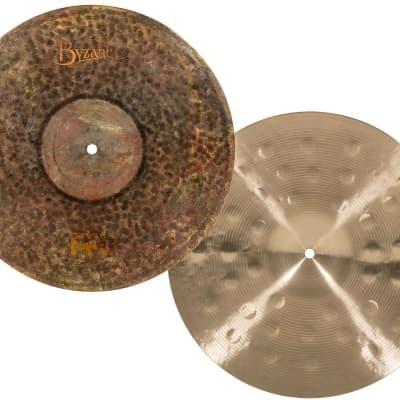 "Meinl Byzance Extra Dry 15"" Extra Dry Medium Thin Hi-Hat Cymbals (pair)"