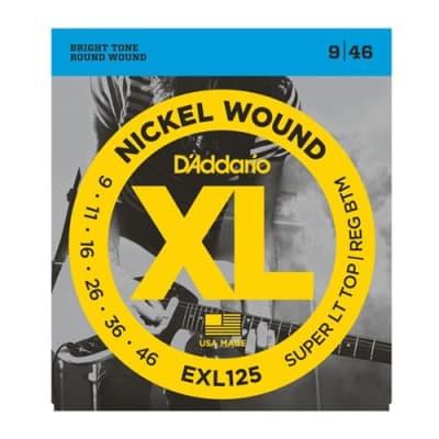 D'Addario EXL125 Electric Guitar Strings, .009 - .046