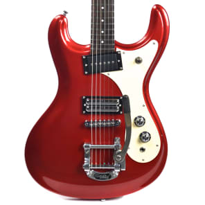 Danelectro The 64 w/ Bigsby Red Metallic