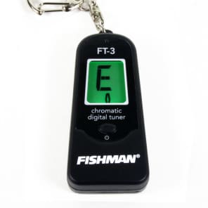 Fishman ACC-TUN-FT3 Digital Keychain Chromatic Tuner