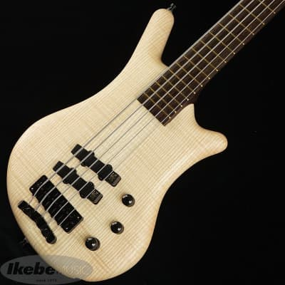 Warwick CS Thumb Bass Bolt-on 5st Selected 1 French flamed ash AAA Top -Outlet Special Price!!- for sale
