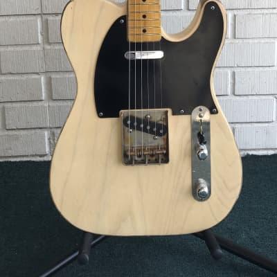 2016 Breaze  50's Custom T  Blonde Ash Electric Guitar for sale