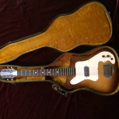 Old Kraftsman / Kay K100 Vanguard (Single Pickup) Sunburst for sale