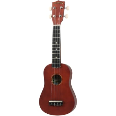 Diamond Head DU-101 Rainbow soprano ukulele brown with gig bag for sale