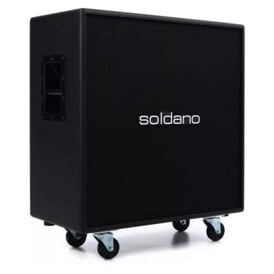 Soldano 4x12 Straight Classic Guitar Amplifier Cabinet for sale