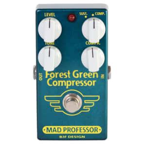Mad Professor Forest Green Compressor Guiar Effect Pedal for sale