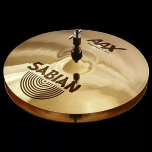 """Sabian 13"""" AAX Stage Hi-Hat Cymbals"""