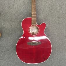 Takamine EG440C-STRY  Transparent Red Flame Maple image