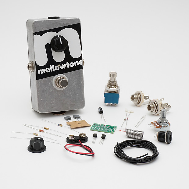 Mellowtone FuzzKit DIY Fuzz Distortion Guitar Effects Pedal Kit
