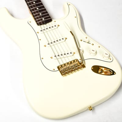 Fender Limited Edition Made in Japan Traditional 60s Stratocaster Daybreak Stratocaster 2019 Olympic White for sale