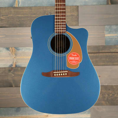 Fender Redondo Player, Walnut Fingerboard, Belmont Blue S/N IWA1818662 for sale