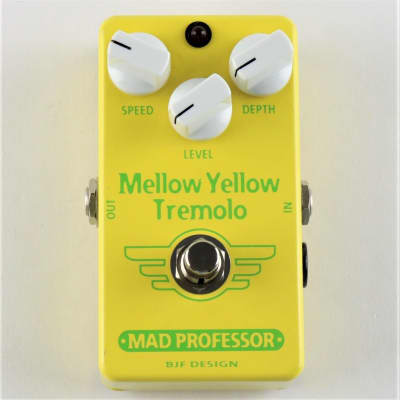 MAD PROFESSOR MELLOW YELLOW TREMOLO HW for sale