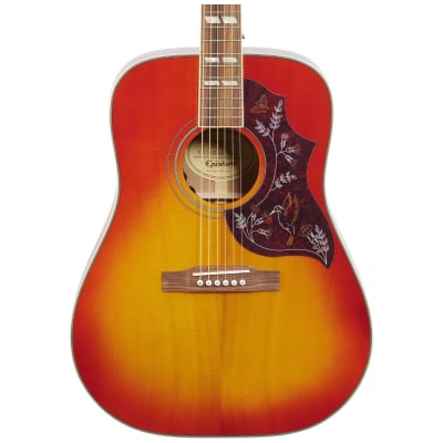 Epiphone Hummingbird PRO Acoustic-Electric Guitar, Faded Cherry for sale