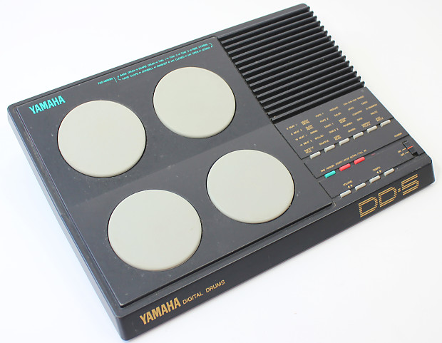 vintage yamaha ddd 5 drum pad midi controller machine reverb. Black Bedroom Furniture Sets. Home Design Ideas