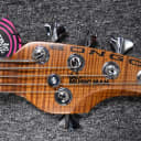 Ernie Ball Music Man BFR Bongo 5 HH,  Wild Cherry Burst w/ Figured Maple *Limited to 57 WORLD WIDE!