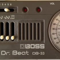 Boss DB-33 Dr. Beat 1980s Gray image