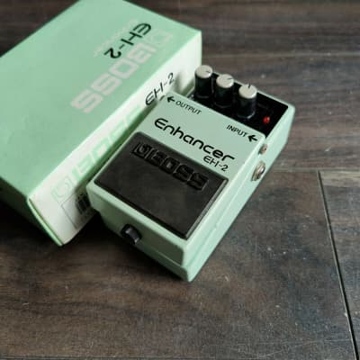 1997 Boss EH-2 Enhancer EQ Vintage Effects Pedal w/Box for sale