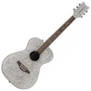 Daisy Rock DR6206 Pixie Rock Acoustic Silver Sparkle